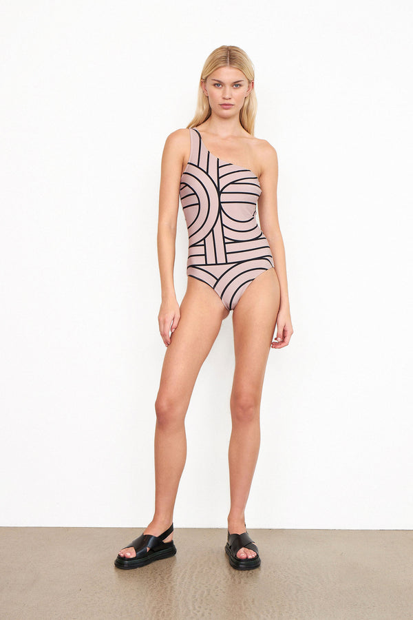 Nordhavn One-shoulder Swimsuit