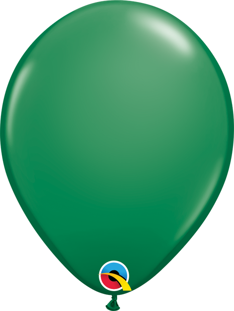 "12"" Green Latex  Balloon"
