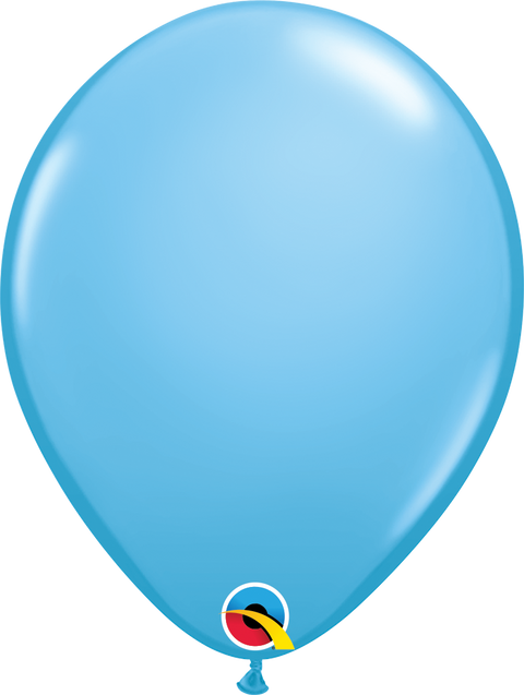 "12"" Light Blue Latex Balloon"
