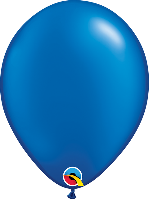 "12"" Pearl Dark Blue Latex Balloon"