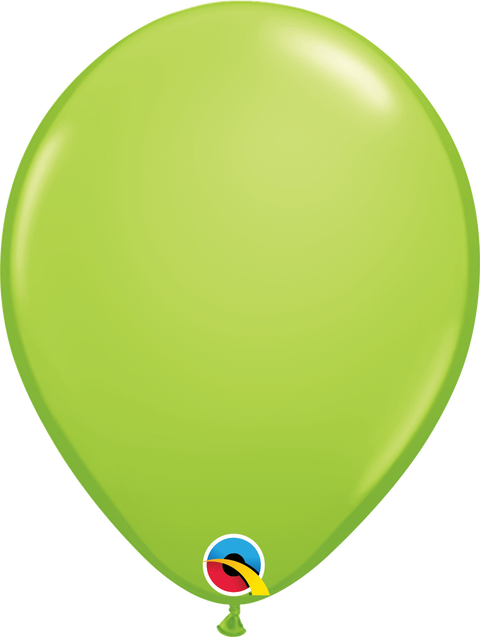 "12"" Lime Green Latex Balloon"