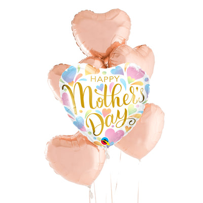 Bouquet Ballons Mylar Happy Mother's Day