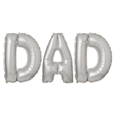 Ballons Lettre Dad