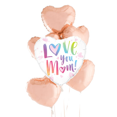 Love You Mom Color Bouquet