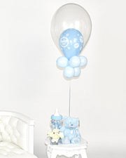 Baby Boy Balloon Centerpiece