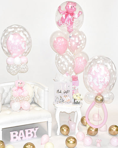Baby Girl Balloon Package