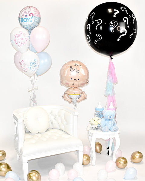 Gender Reveal Balloon Package