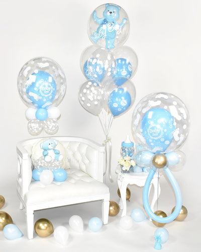 Baby Boy Balloon Package