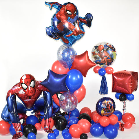 Spiderman Balloon Package