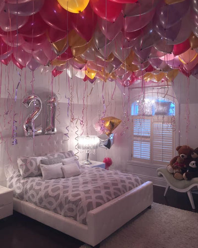 Age Balloon Ceiling Package
