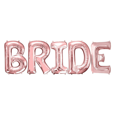 Bride Balloon Letters