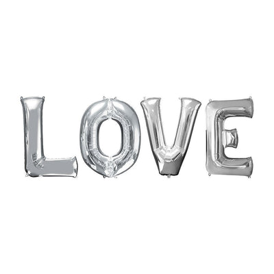"Ballons Lettres ""Love"""