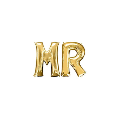 "Ballons Lettres ""Mr"""