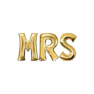 "Ballons Lettres ""Mrs"""