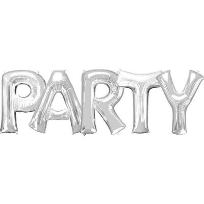 "Ballons Lettres ""Party"""