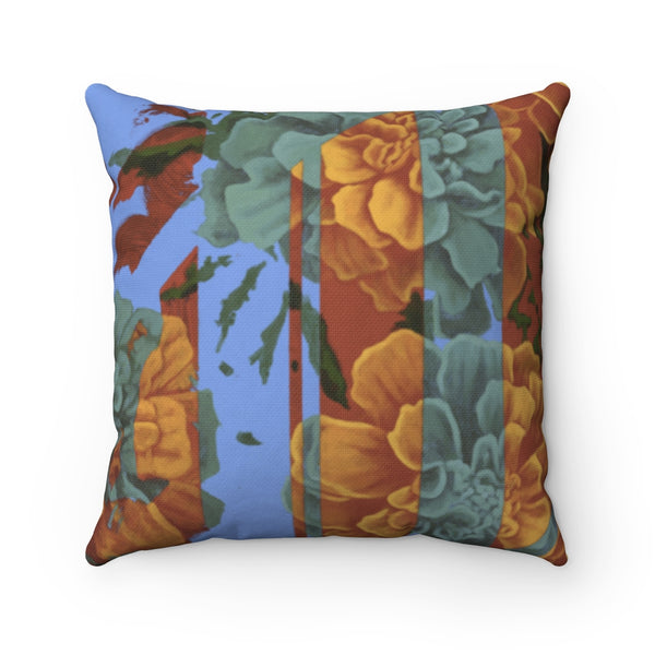 """Last Day of Winter"" Spun Polyester Square Pillow"