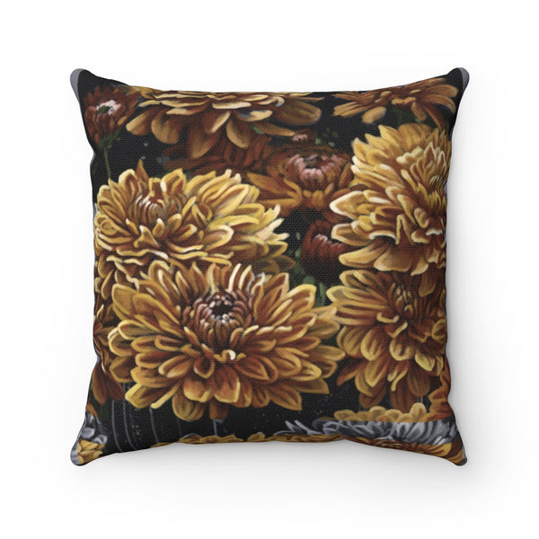 """Glimpses of Growth"" Spun Polyester Square Pillow"