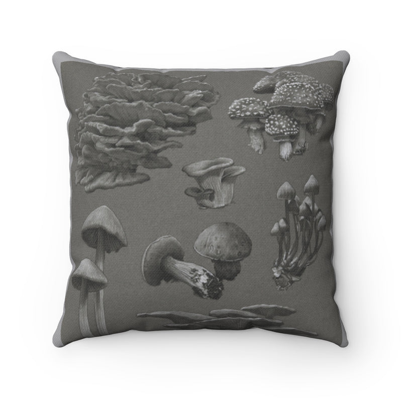 """Spores"" Spun Polyester Square Pillow"