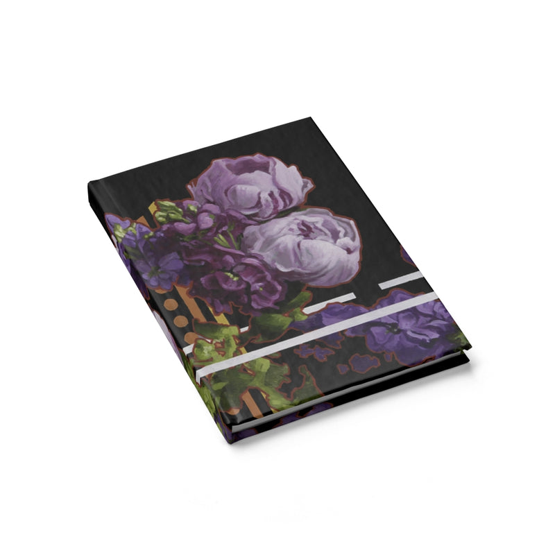 Purple Peonies Sketchbook/Journal