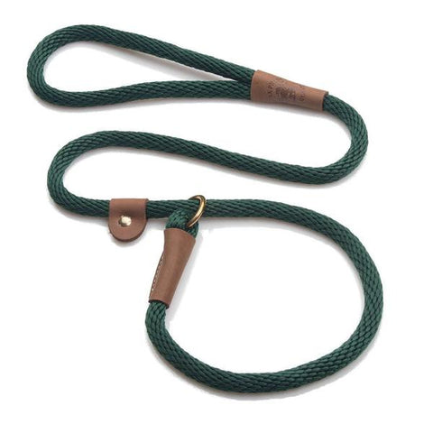 Correa Slip Leash 1.2m Hunter Green - Pet Vibes