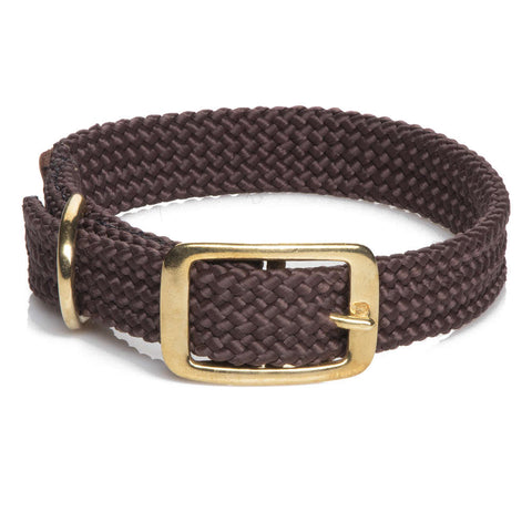 Collar Trenzado Brown - Pet Vibes