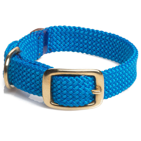 Collar Trenzado Blue - Pet Vibes