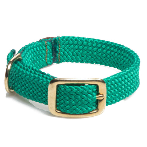 Collar Trenzado Kelly Green