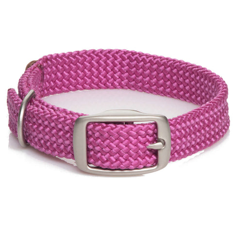 Collar Trenzado Raspberry - Pet Vibes