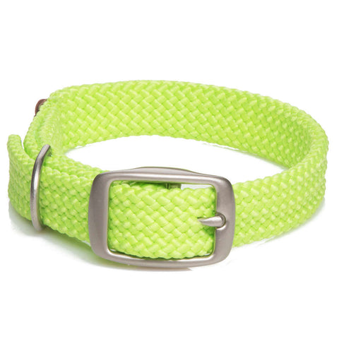 Collar Trenzado Lime - Pet Vibes