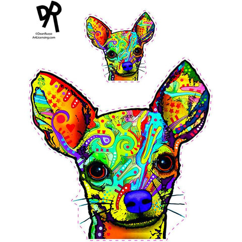 Sticker Auto Chihuaha