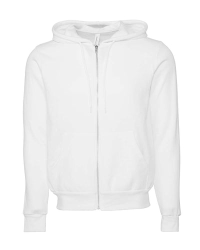 BELLA + CANVAS - Unisex Sponge Fleece Full-Zip Hoodie - 3739