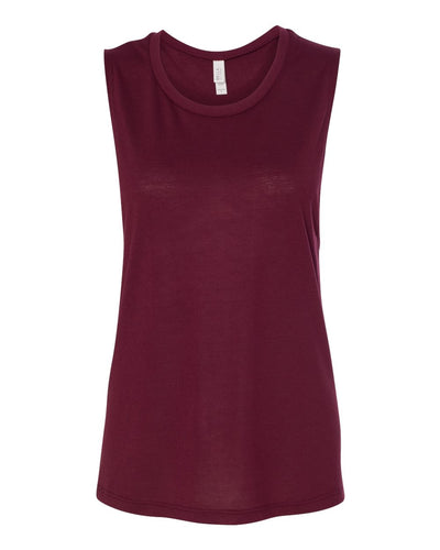 BELLA + CANVAS - Women's Flowy Scoop Muscle Tank - 8803