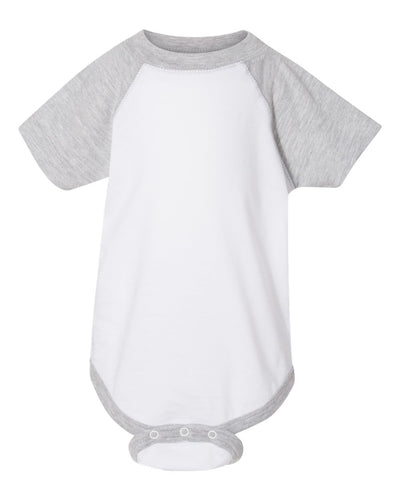 Rabbit Skins - Infant Baseball Fine Jersey Bodysuit - 4430