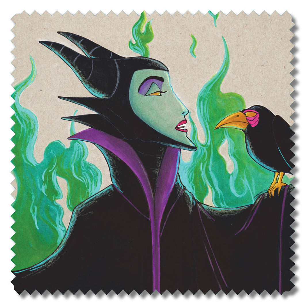 Maleficent Micro Fiber Cloth