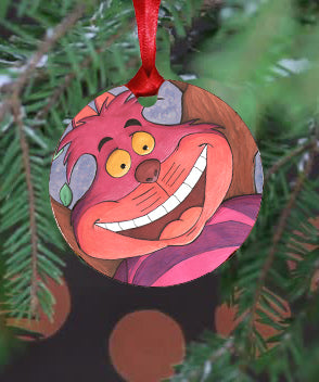 Cheshire Ornament