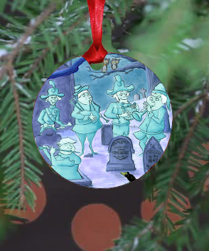 Haunted Mansion Band Ornament