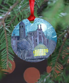 Haunted Mansion Ornament