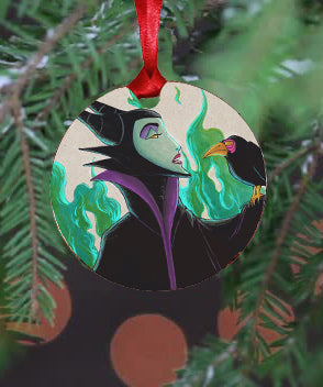 Maleficent Ornament