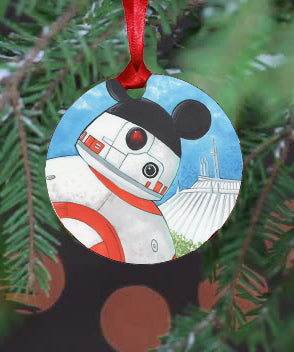 WDW BB8 Ornament