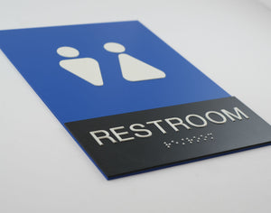 When you gotta go   ..   Make sure your Restroom Signs are Compliant!