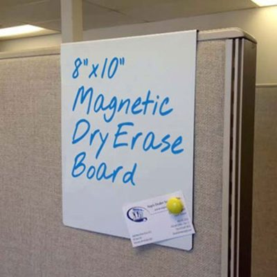 Nap Nameplates Over the Cube White Board Sign