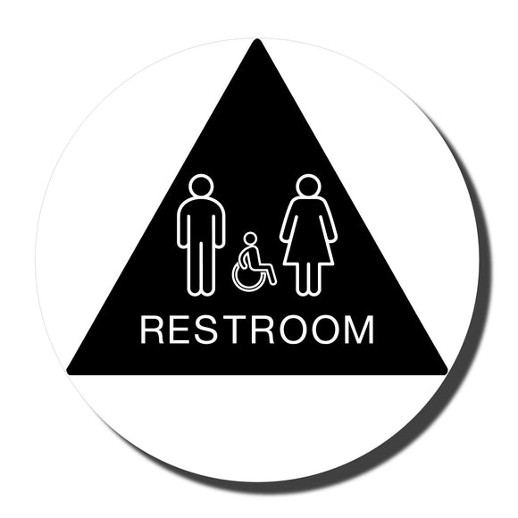 California ADA Accessible Restroom Signs - NapADASigsn