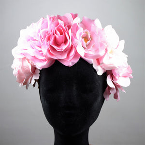 Flower Crown Big, Hotpink
