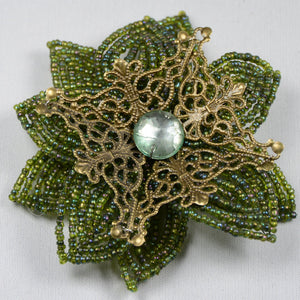 Pearl flower - Daisy - Green