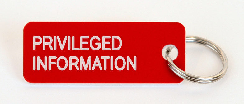 Use 'privileged information' in a Sentence