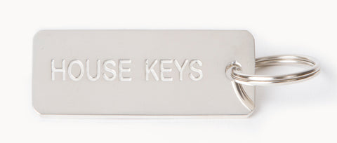 STERLING SILVER  -- HOUSE KEYS