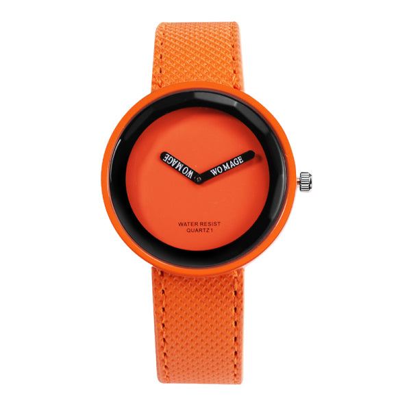 Leather Yellow Ladies Watch Women Watches Gifts - Wholesale_Star_1