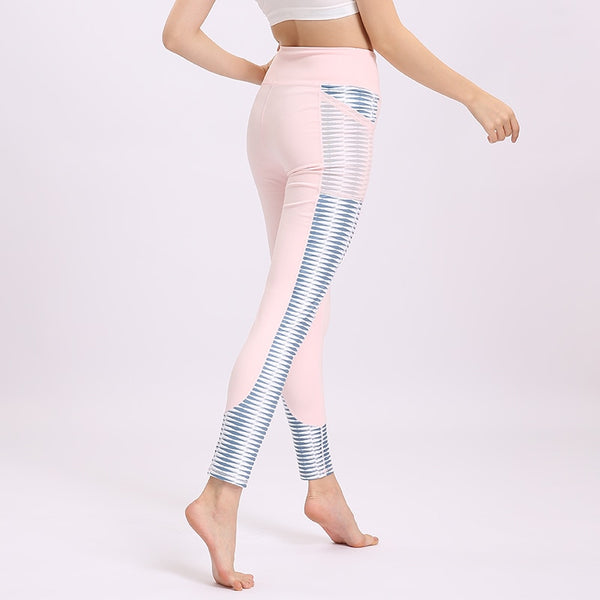 Pocket High Chiuno Leggings Vakadzi Kusimba Workout Activewear Patchwork