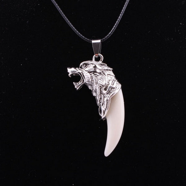 Wolf Tooth Tooth Design Necklace Cool Man/Boy Titanium Steel Domineering Animal Courage Pendant - Wholesale_Star_1