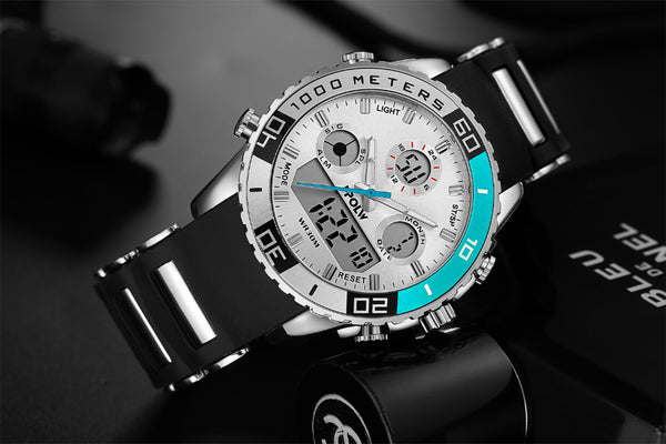Sport Watch Men Waterproof Military Luxury Brand Male Wrist Watch Digital Electronic LED Shock Watch - Wholesale_Star_1